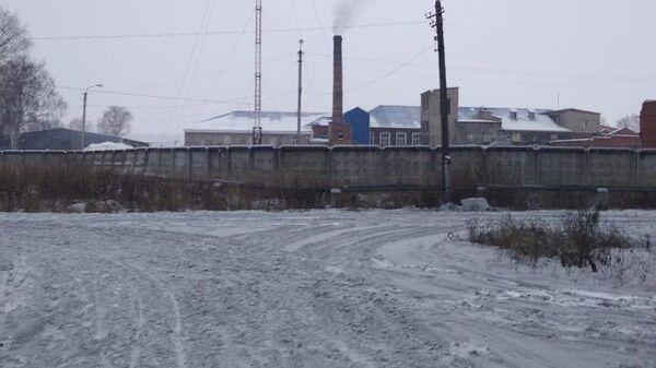 Черный снег выпал в поселке Заречный Заволжского района