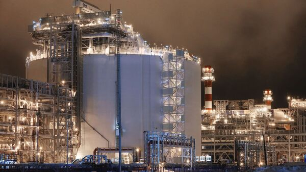 Завод по производству сжиженного природного газа Ямал СПГ