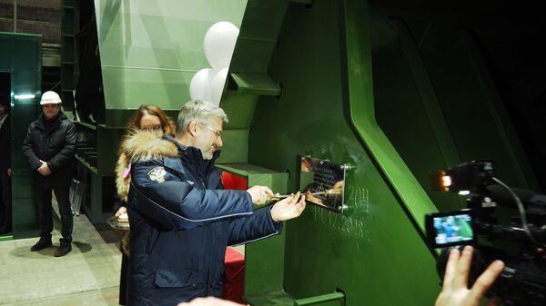 Министр транспорта России Евгений Дитрих в пятницу принял участие в закладке нового судна на Онежском судостроительно-судоремонтном заводе в Петрозаводске. 14 декабря 2018
