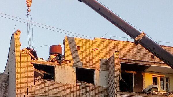 Последствия взрыва газа в жилом доме в Вологде. 16 декабря 2018