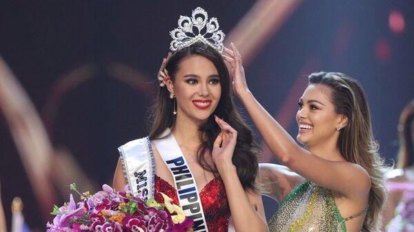 Победительница конкурса красоты Мисс Вселенная Катриона Грей