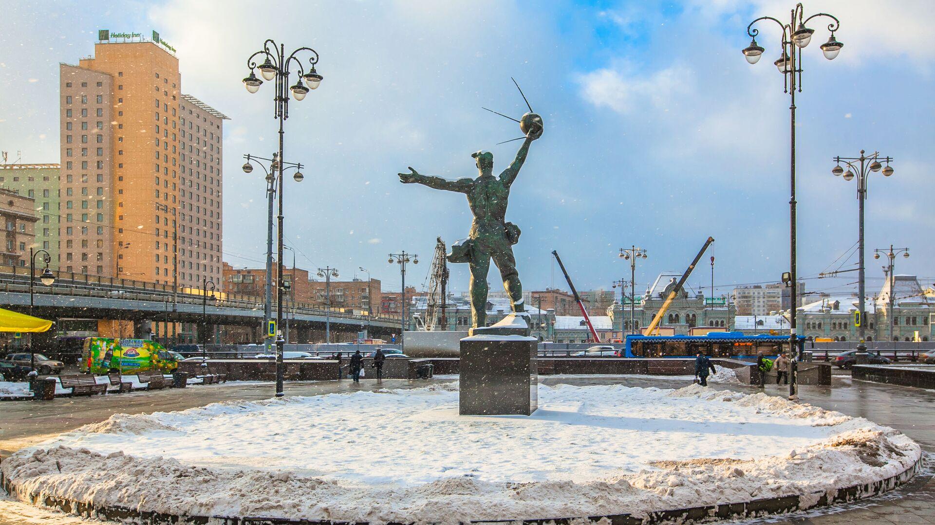 Площадь возле Рижского вокзала - РИА Новости, 1920, 21.01.2021
