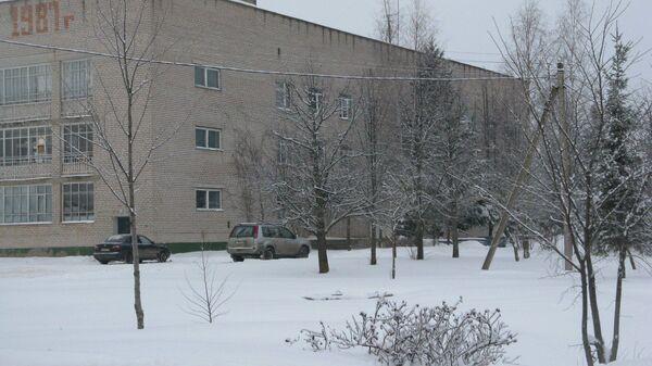 Больница в поселке Шимск Новгородской области