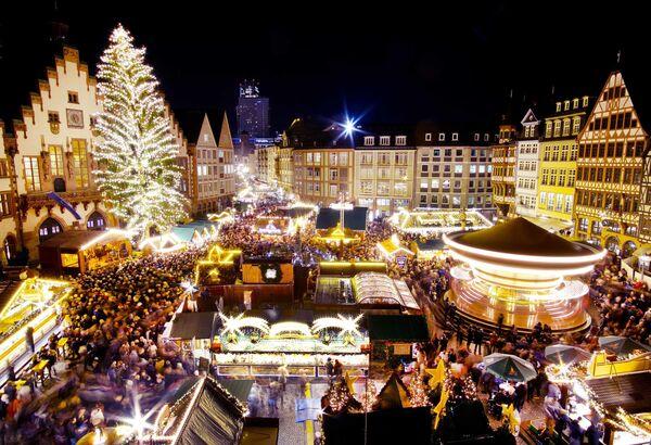 Рождественский базар во Франкфурте