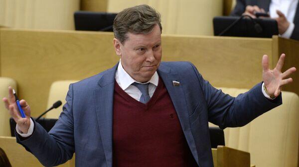 Депутат Олег Нилов
