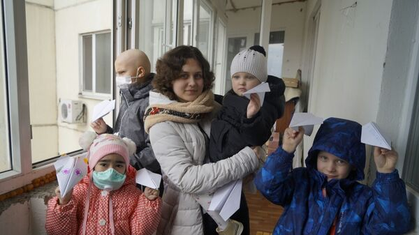 Жильцы одной из арендованных квартир на Москворечье
