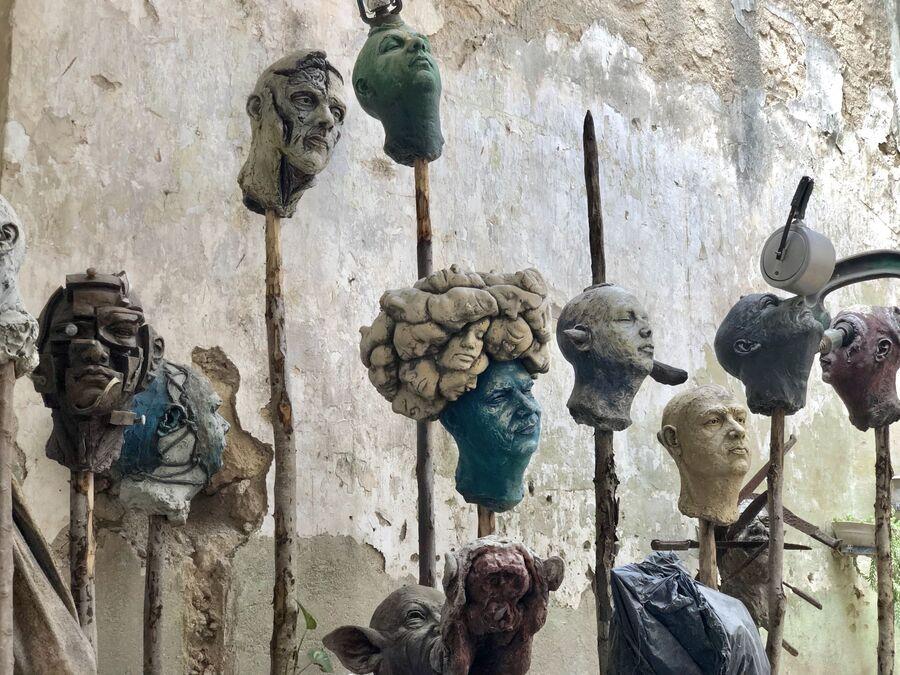 Работы скульптора Лоло, Матансас, Куба