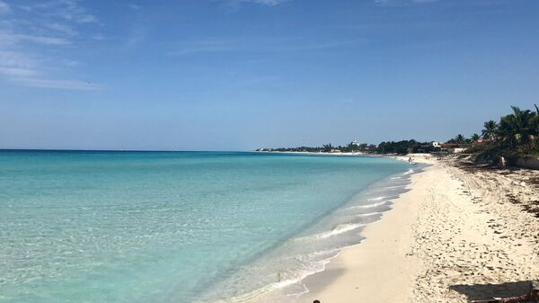 Пляж в окрестностях Варадеро, Куба