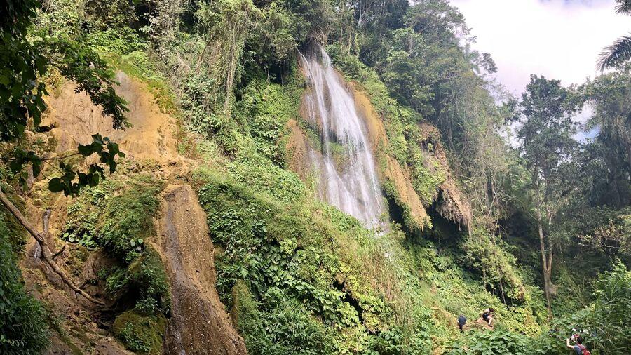 Водопад, Национальный парк Josone, Куба