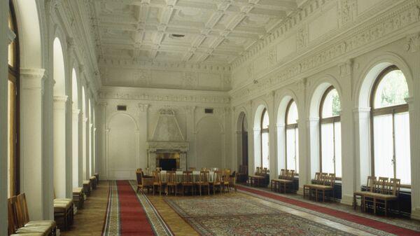 Большой Ливадийский дворец. Место проведения Ялтинской конференции в феврале 1945 года
