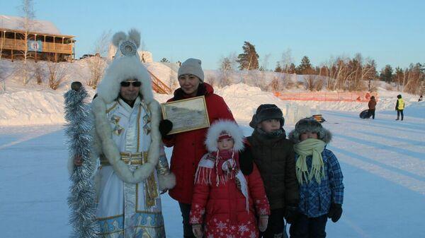 Гавриил Угаров (якутский Дед Мороз Эьээ Дьыл). Архивное фото