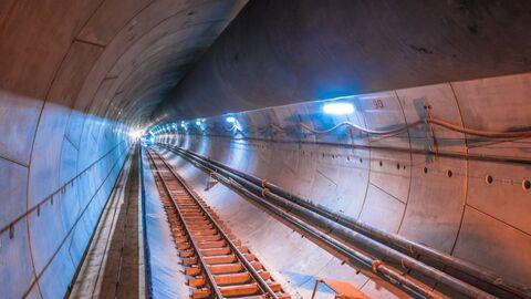Строительство Большой кольцевой линии метро