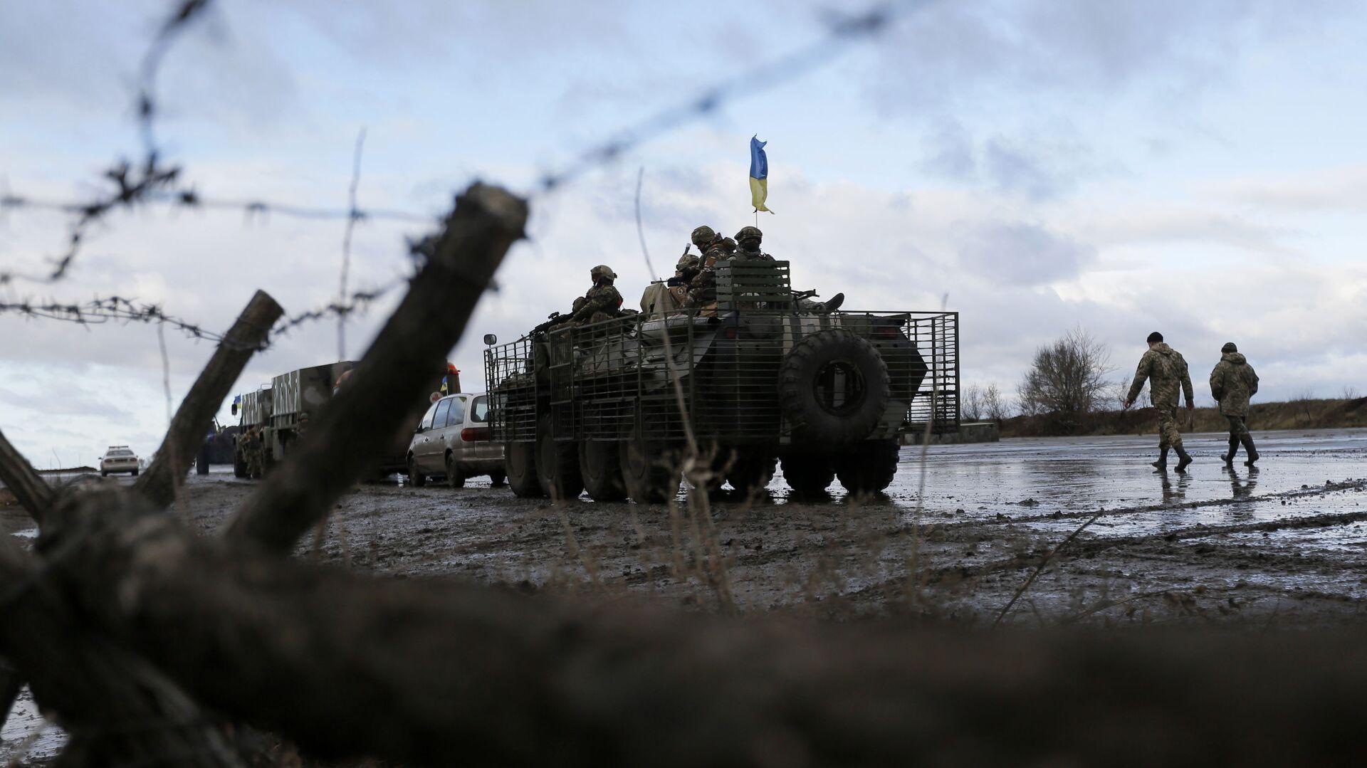 Украинские военные в Донецкой области - РИА Новости, 1920, 03.03.2021