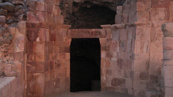 Пещера Лота в Иордании
