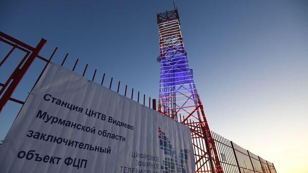 Башня Ура в поселке Видяево