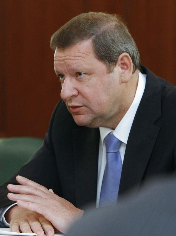 Премьер-министр Белоруссии Сергей Сидорский. Архив