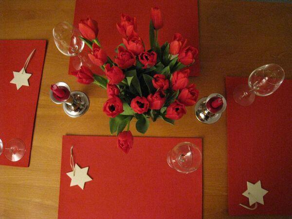 Вариант новогоднего стола