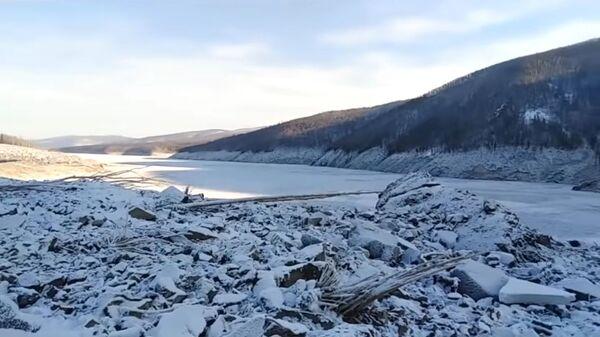 Река Бурея в Хабаровском крае (скриншот видео)
