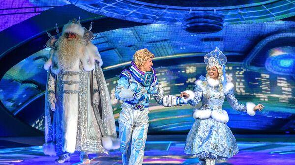 Сцена из новогоднего представления на Кремлевской елке
