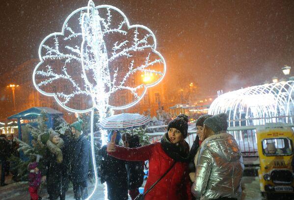 Празднование католического Рождества на Украине