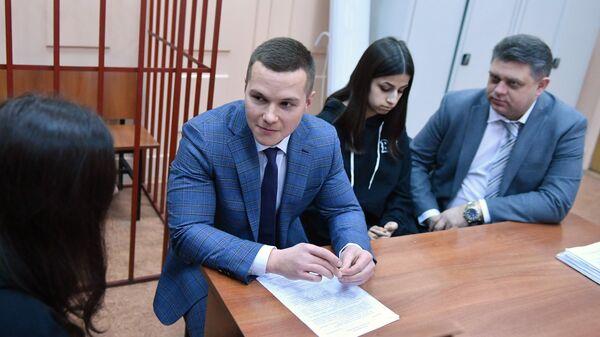 Кристина и Ангелина Хачатурян в Басманном суде Москвы