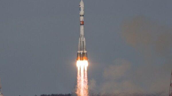 Пуск ракеты-носителя Союз-2.1а