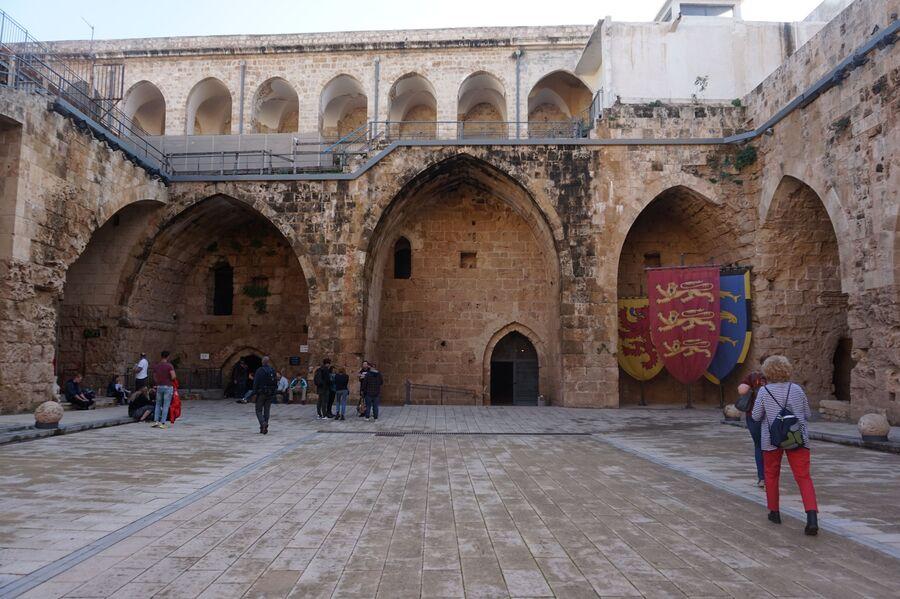 Крепость в Акко