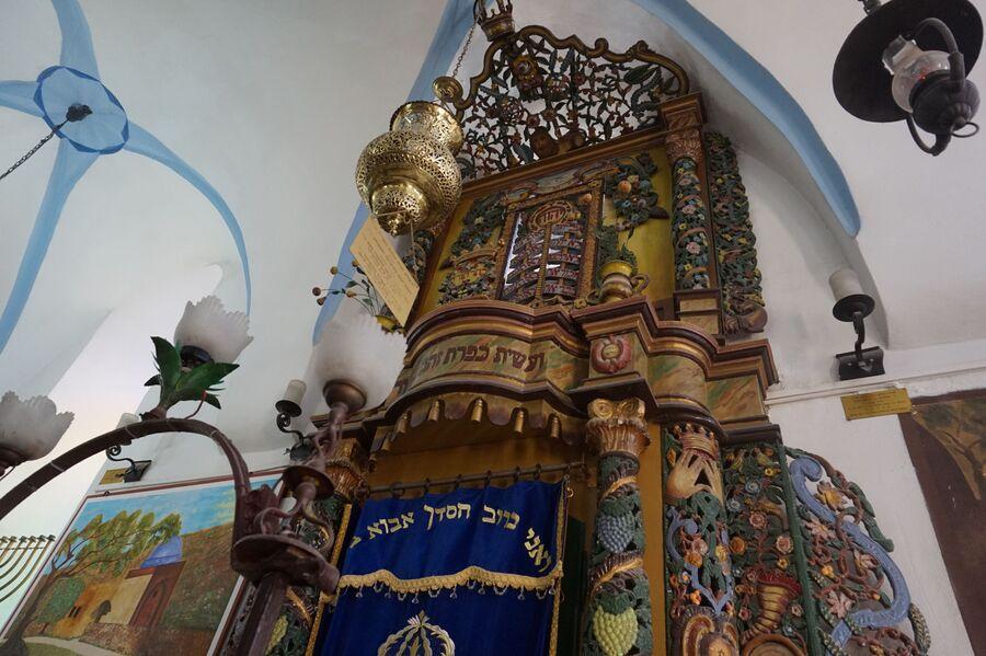 В синагоге в Цфате