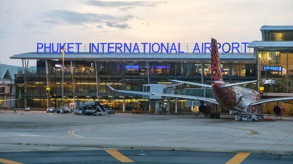Здание международного аэропорта на острове Пхукет