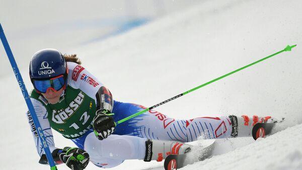 Словацкая горнолыжница Петра Вльгова