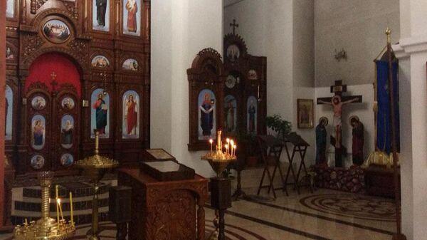 Храм в Донецкой области Украины, из которого были похищены мощи Георгия Победоносца