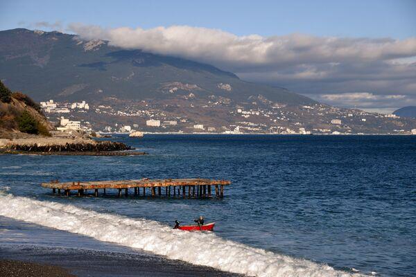Черное море в Ялте