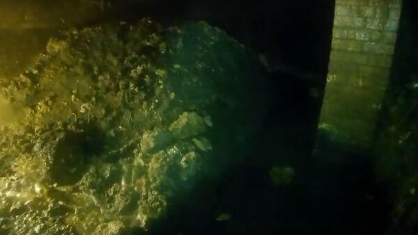 Огромный жировой монстр найден в канализации английского города Сидмут