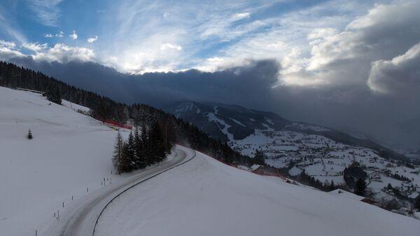 Гора Планай в австрийском городе Шладминг