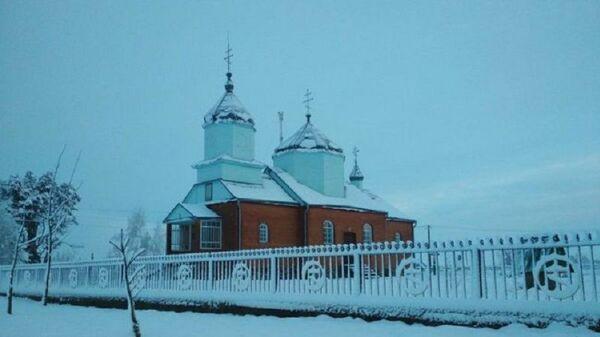 Свято-Михайловский храм в селе Красноволя Волынской области, Украина