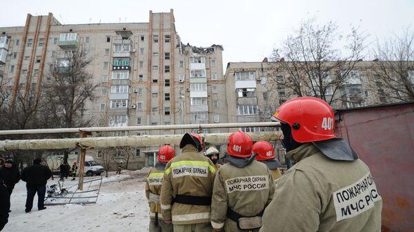 Взрыв газа в городе Шахты