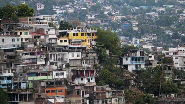 Вид на центр города Акапулько, Мексика