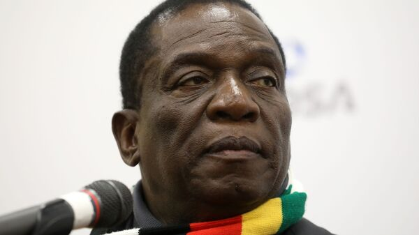 Президент Республики Зимбабве Эммерсон Мнангагва