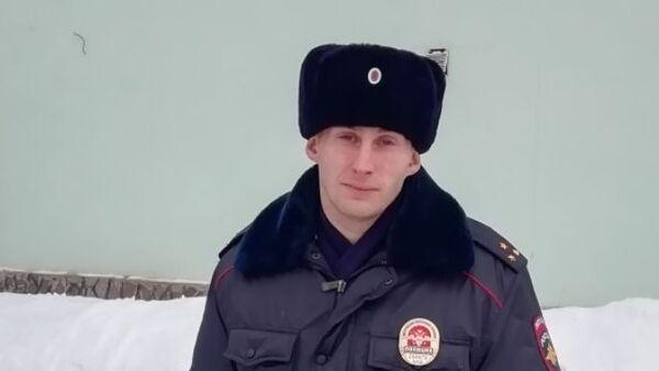 Старший лейтенант полиции Павел Зотов