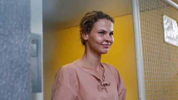 Анастасия Вашукевич в суде Паттайи