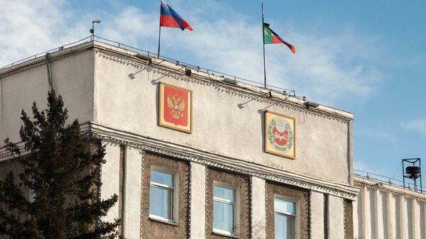 Здание правительства Республики Хакасия