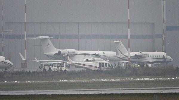 Крушение самолета главы Total во Внуково. Архивное фото
