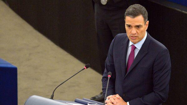 Лидер ИСРП Педро Санчес