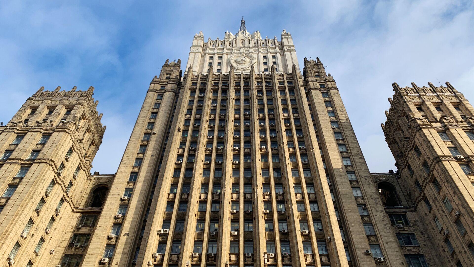 Здание министерства иностранных дел РФ - РИА Новости, 1920, 27.01.2021