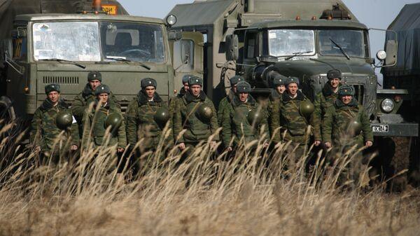 Военнослужащие инженерных подразделений ПУрВО на Чебаркульском полигоне