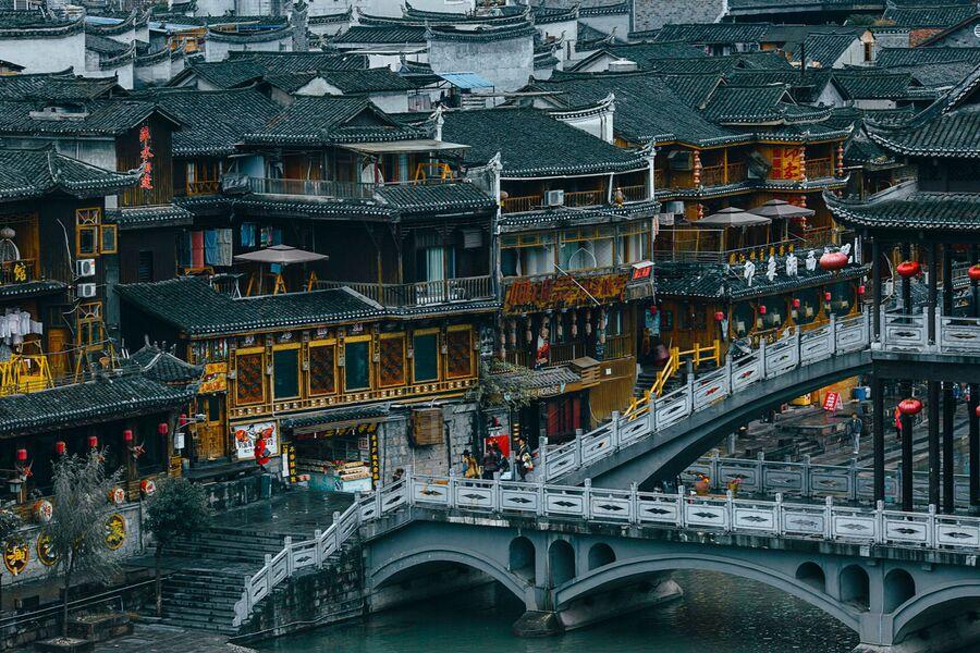 Город Фэнхуан, Китай
