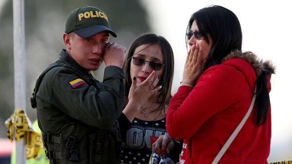 Взрыв в школе полиции в Боготе. 17 января 2019