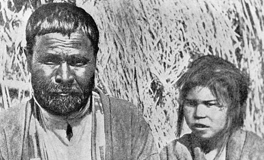 Коренные жители Курильских островов - Айны