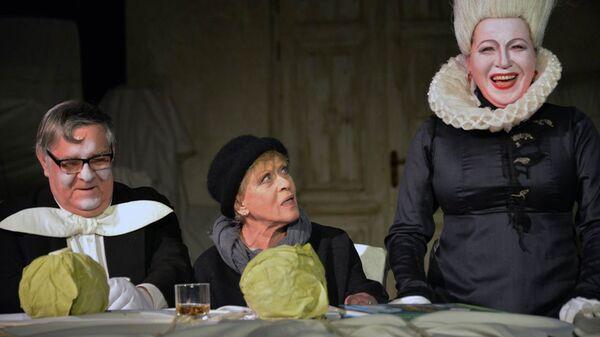 Спектакль Алиса на сцене БДТ имени Г.А.Товстоногова