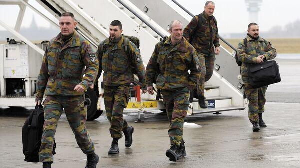 Бельгийские военнослужащие